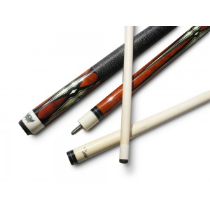 GN-919 Billiards Cue Stick With a painted leather Wrap