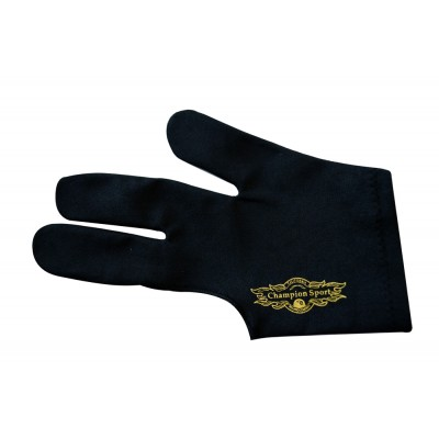 Champion Sport Co Black Left Handed Billiards Gloves