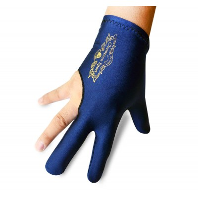 Champion Sport Co Dark Blue Right Handed Billiards Gloves