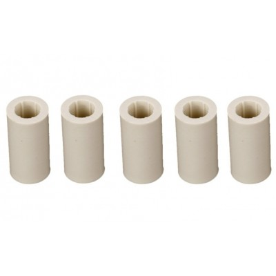 Lot of 5 ABS Fibre short Ferrule (15mm length)