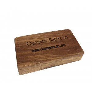 New Champion Wooden Gator Shaper Tip Tool For Billiard Cue Stick, Retail: $24.52