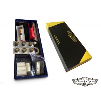 Premium Pool Cue Tip Repair Kit With Tips