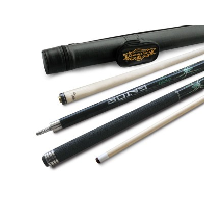 Champion Spider Black Pool Cue - Model: SP-B