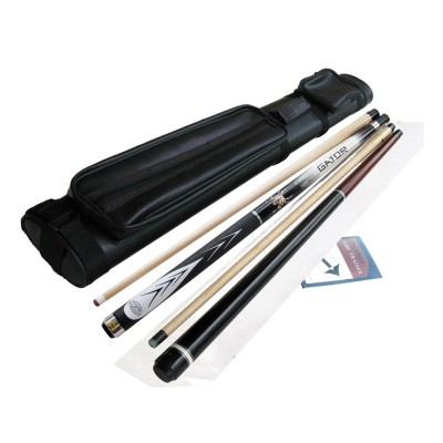 Spider SP-G White, Nemesis Jump & Break Cue, Glove, 2X2 Cue case