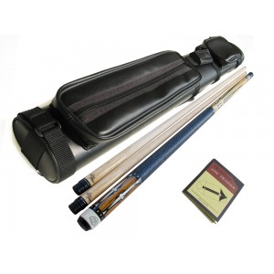 Champion Gemini 2-Shafts SC2 Billiards Cue,Cue case,Glove