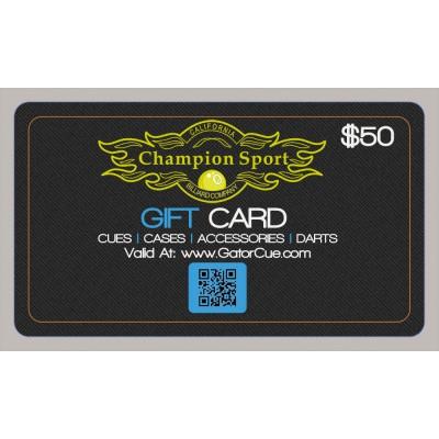 $50 Gift Card Voucher