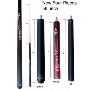Champion BK3 Jump and Break Cue, Pool Glove,Aim trainer, Pure Shaft Technology
