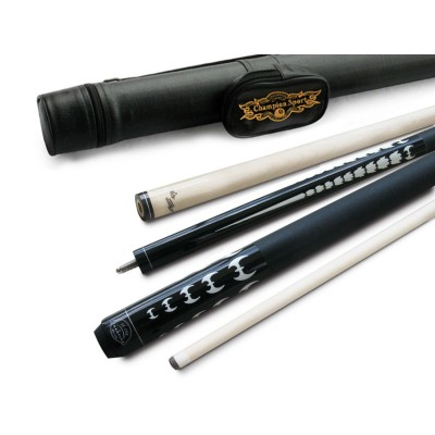 ST15 Billiards Maple Pool Cue,glove, 3 Layer cue tips, White case
