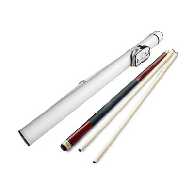 Champion ST-14 2-Shaft  Cue Stick with Black Case,3 cue tips, Glove