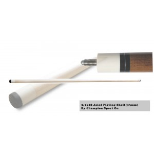 Extra Playing Shaft for Pool Cue Stick (5/16x18 Joint, 12mm or 13mm)